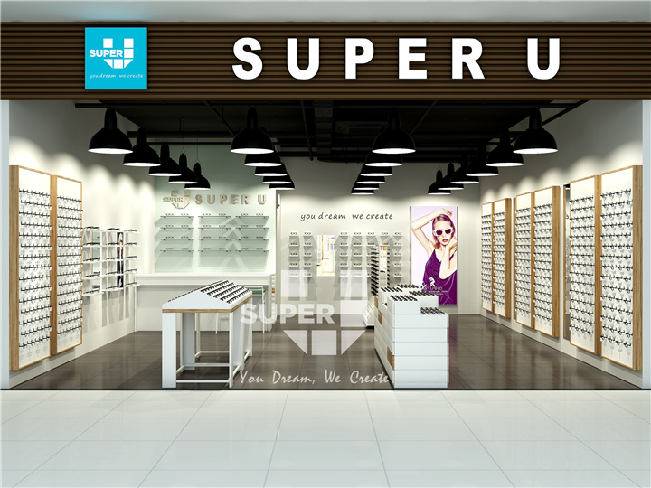 2a0103201573 Classic Optical Display Furniture Design - Eyewear Store Interior ...