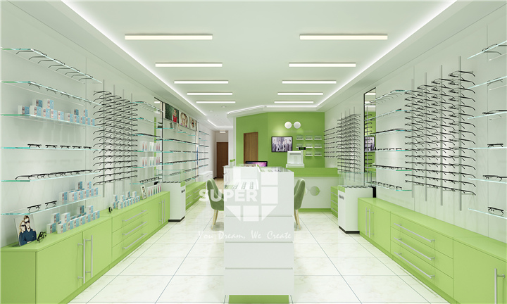 Fashion Optical Shop Interior Design