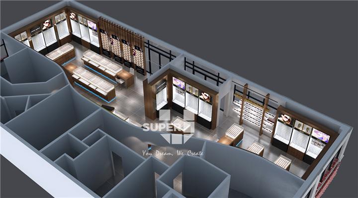 Professional Optical Shop Furniture Design Eyewear Store Interior Design Optical Shop Design Ideas