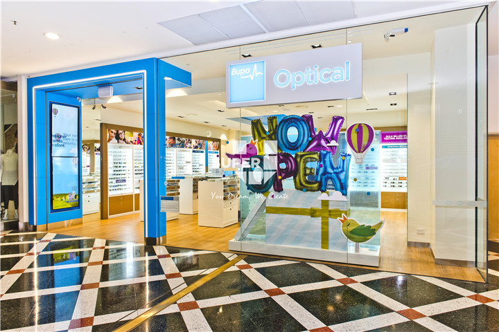 Modern Optical Shop Design