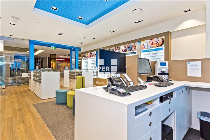 Modern Optical Shop Design Eyewear Store Interior Design Optical